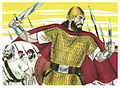 First Book of Samuel Chapter 13-1 (Bible Illustrations by Sweet Media).jpg