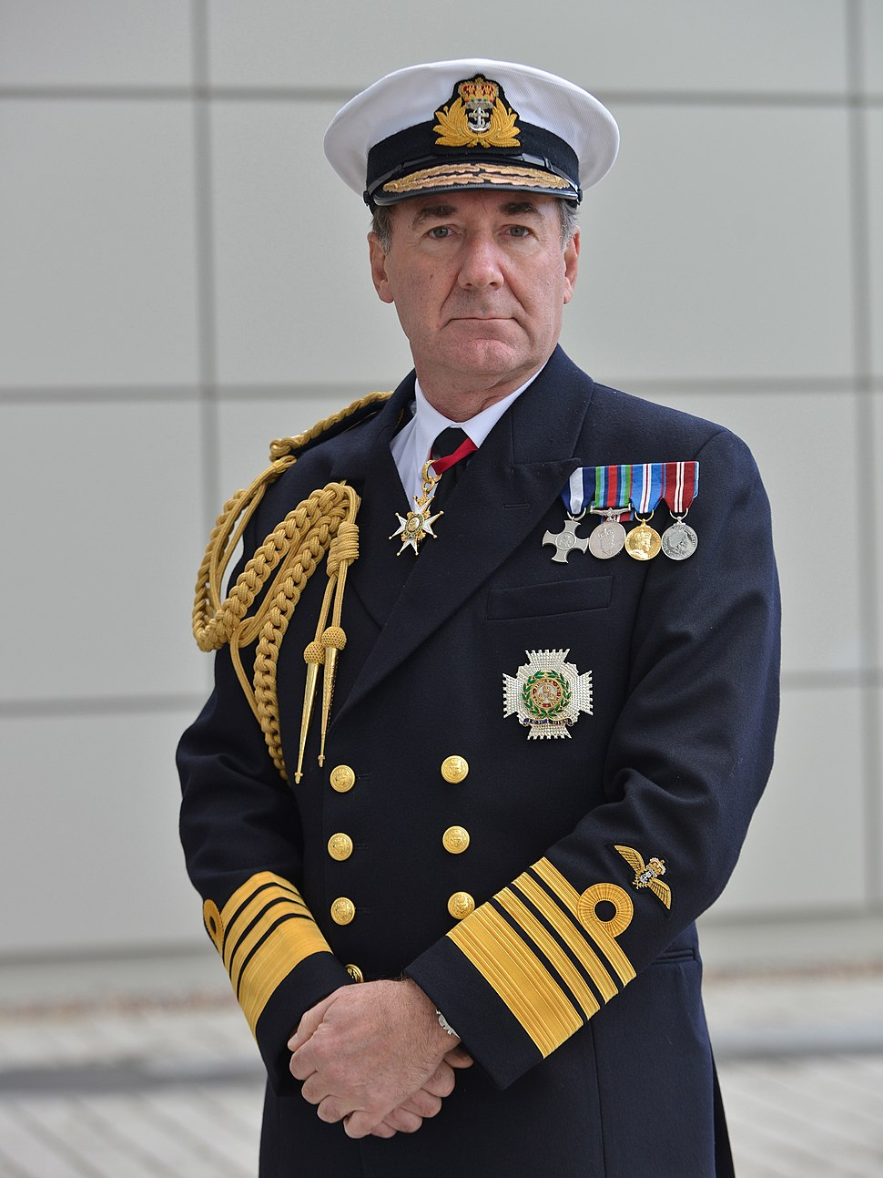 First Sea Lord Admiral Sir George Zambellas KCB DSC ADC MOD 45155508