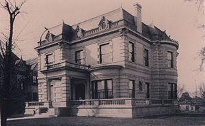 Alabama Governor's Mansion - The first Alabama Governor's Mansion