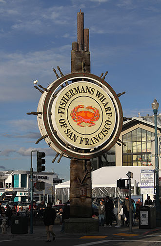 Fisherman's Wharf, San Francisco - Fisherman's Wharf sign