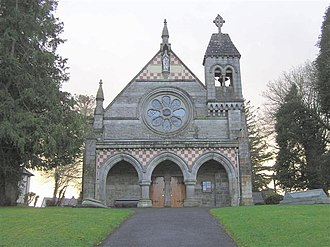 Fivemiletown - Image: Fivemiletown RC Church geograph.org.uk 309180