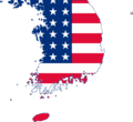 Flag map of United States Military Government of Korea (1945 - 1948).png