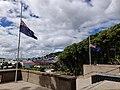 Flags at half mast - National War Memorial.jpg