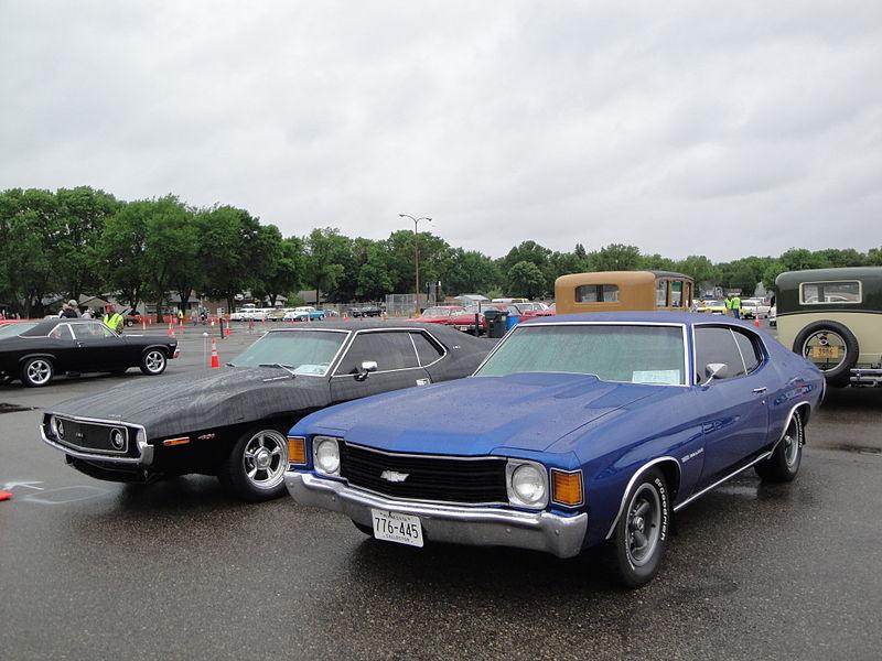 File:Flickr - DVS1mn - 72 Chevrolet Chevelle ^ 73 AMC Javelin (1).jpg
