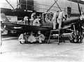 Flight mehanic training - Keesler Field MS - 1942.jpg