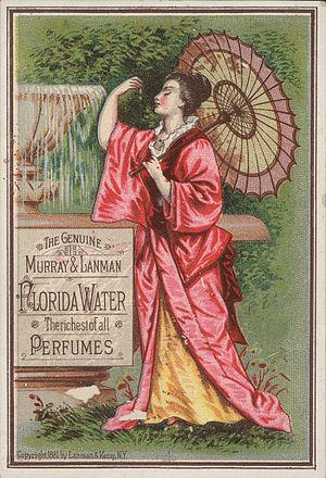 Trade card - Image: Florida Water TC1881