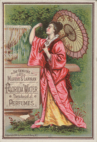 Trade card - Image: Florida Water TC1881