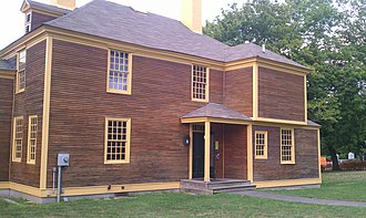 American Independence Museum - The Folsom Tavern after restoration