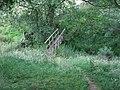 Footbridge near Orseddwen Farm - geograph.org.uk - 910677.jpg