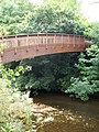 Footbridge over River Otter Devon - geograph.org.uk - 906180.jpg