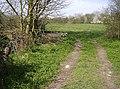 Footpath from Brook Lane - geograph.org.uk - 983721.jpg