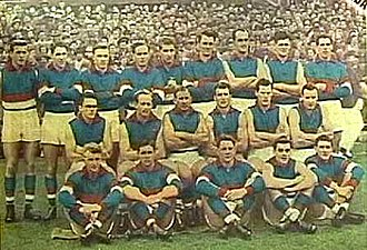 1954 VFL Grand Final - Footscray team, premiers