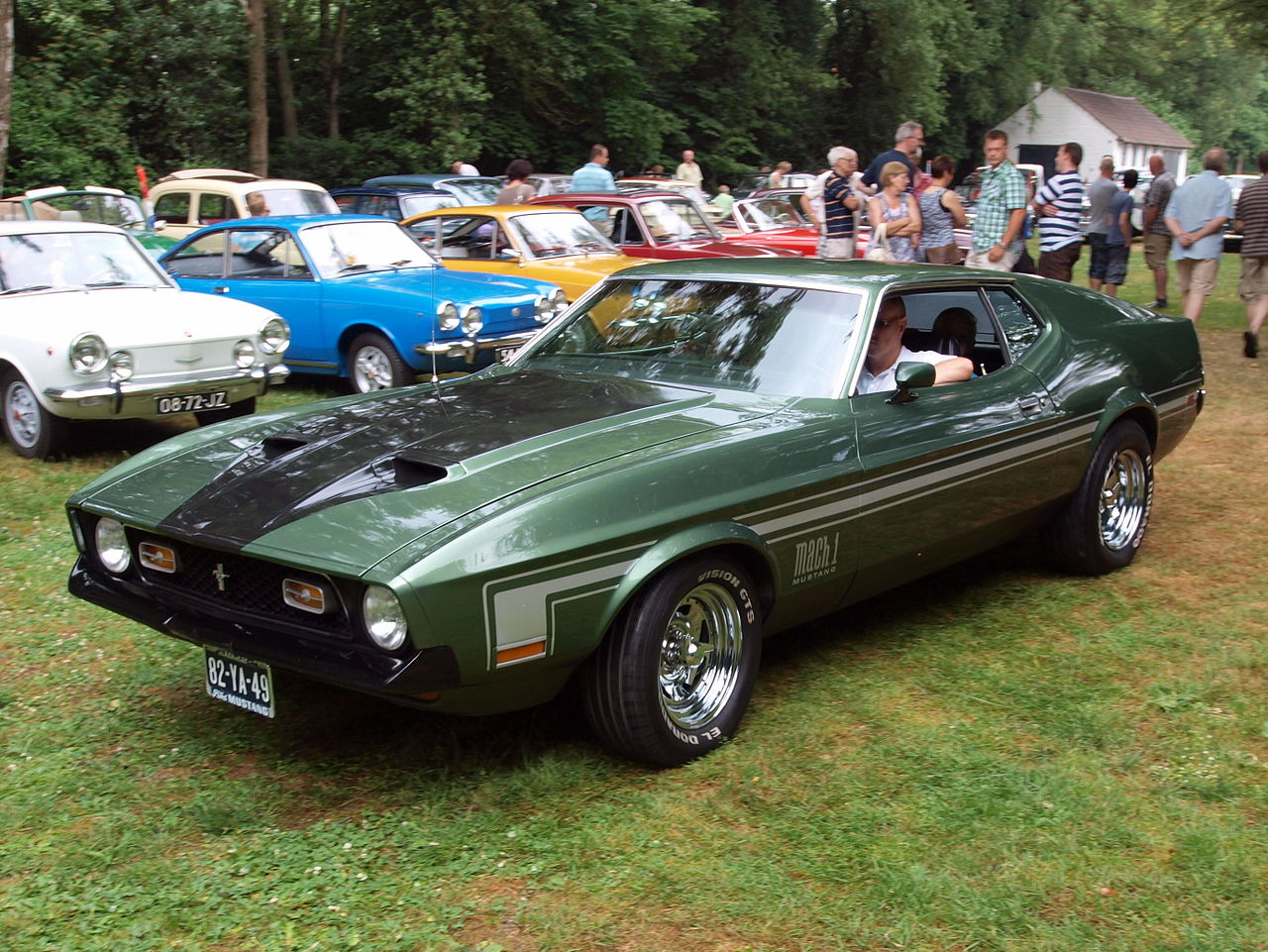 is there a 1973 ford mustang mach 1 convertible. Black Bedroom Furniture Sets. Home Design Ideas