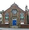 Volt primitív metodista kápolna, Lesbourne Road, Reigate (2013. június). JPG
