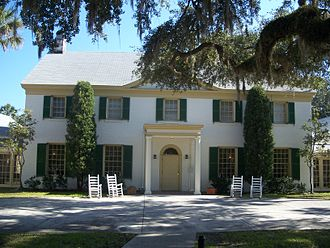 Fort George Island Cultural State Park - Ribault Inn Club, a winter resort now used as visitors center