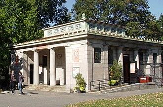 Fort Greene Park - The park's information center