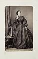 Fotografiporträtt på Marie von Merhart, 1800-talets andra hälft - Hallwylska museet - 107725.tif