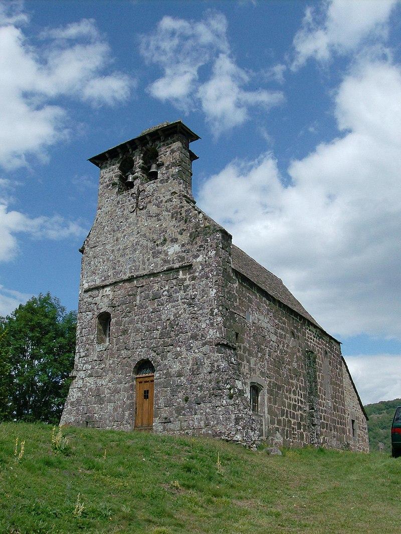 France, Aveyron, Thérondels, Laussac, église (1).jpg