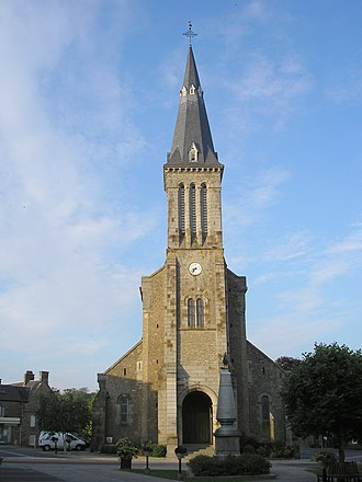 Athis-Val-de-Rouvre - The church in Athis-Val-de-Rouvre