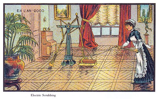France in XXI Century. Electric scrubbing