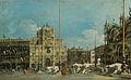 Francesco Guardi, The Torre dell'Orologio in Piazza San Marco.jpg