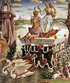 Francesco del Cossa - Allegory of April - Triumph of Venus (detail) - WGA05405.jpg
