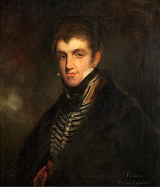 Francis Spencer, 1st Baron Churchill - Francis Spencer, later 1st Baron Churchill (1779–1845) (after William Owen)