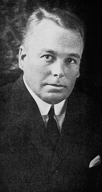 Henry Perrine Baldwin - Frank Fowler Baldwin in 1921