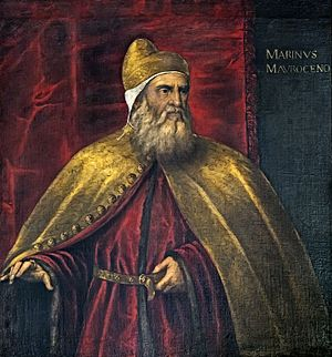 Marino Morosini - Marino Morosini by Palma il Giovane