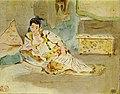 Frauen von Algier (Studie), Eugène Ferdinand Victor Delacroix.jpg