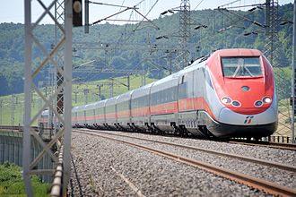 Trenitalia - Frecciarossa High-Speed train