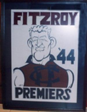 Fitzroy Football Club - Fred Hughson, Fitzroy's last premiership-winning captain