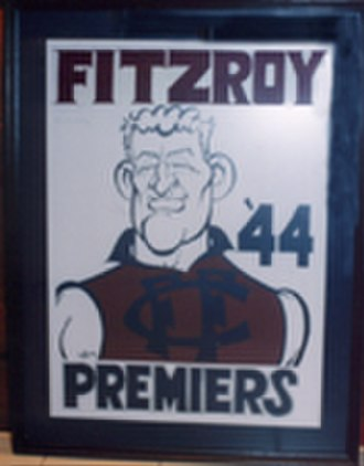 Fitzroy Football Club - Fred Hughson, Fitzroy's last premiership-winning captain