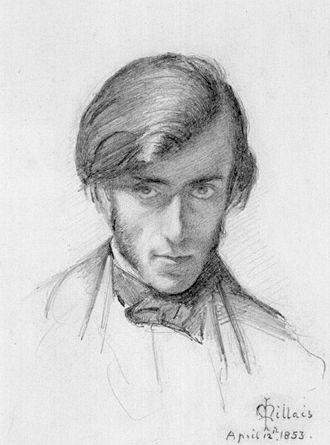 Frederic George Stephens - F.G. Stephens, by John Everett Millais