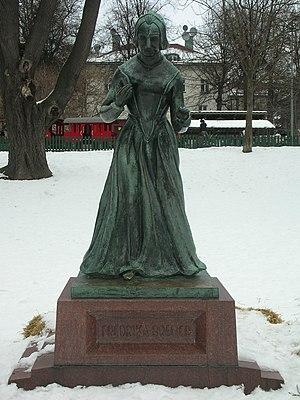 Fredrika Bremer - Statue depicting Fredrika Bremer in Stockholm, unveiled 2 June 1927