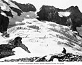 Fremont Glacier at the North Fork of Bridge Creek, Mount Logan, Skagit County, 1910 (LL 1375).jpg