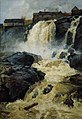 Frits Thaulow - The Waterfall Haugsfossen - NG.M.00304 - National Museum of Art, Architecture and Design.jpg
