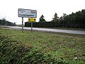 From Lincolnshire to Cambridgeshire on the A1101 at Tydd Gote (geograph 2222792).jpg