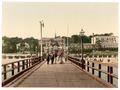 From the bridge, Heringsdorf (i.e., Seebad Heringsdorf), Pomerania, Germany-LCCN2002713985.tif