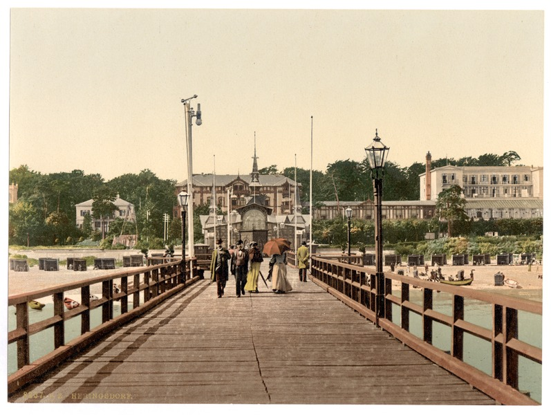 Seebad Heringsdorf Germany  city pictures gallery : the bridge, Heringsdorf i.e., Seebad Heringsdorf , Pomerania, Germany ...