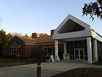 Front entrance of the Sherwood Regional Library.jpg