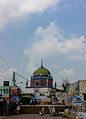 Front view Shrine of Hazrat Shah Shamsuddin Sabzwari.jpg