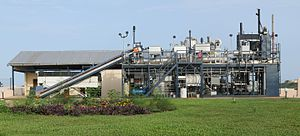 Omni Processor - Omni Processor pilot plant by Janicki Bioenergy treating fecal sludge in Dakar, Senegal