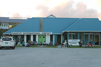 Funafuti International Airport - Funafuti International Airport terminal building