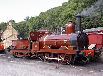 Sharp, Stewart and Company - Furness Railway No. 20. Works No. 1448 of 1863