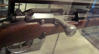 Fusil Gras mle 1874 - Image: Fusil Gras M80 1874 culasse
