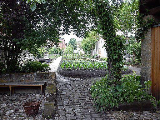 Garten im Gärtner- und Häckermuseum Bamberg