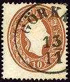 Görkau 1861 10kr Jirkov.jpg
