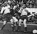 Gösta Lundell playing for Sweden in 1963.jpg