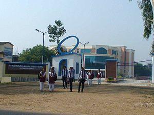Harnaut - Main gate of GMCP college